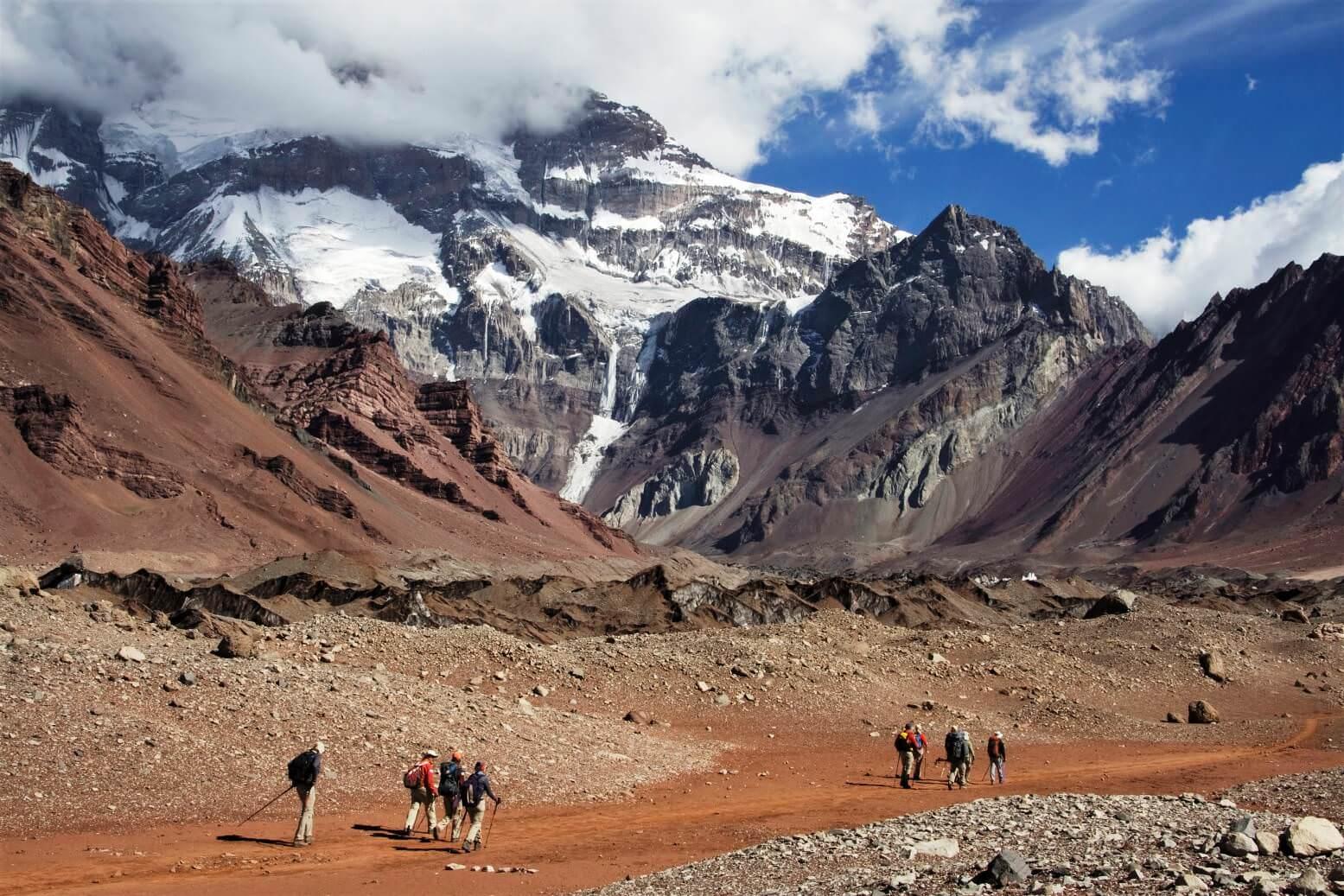 trekking in Mendoza