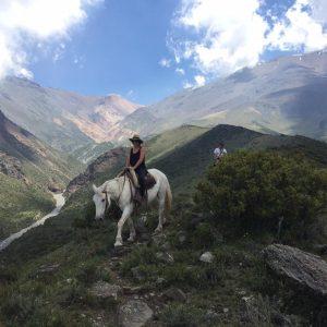 paseo a caballo en mendoza