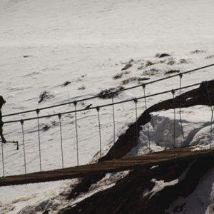 caminata en el aconcagua