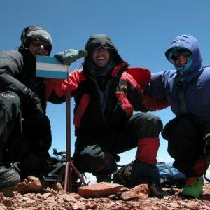 cumbre cerro mercedario